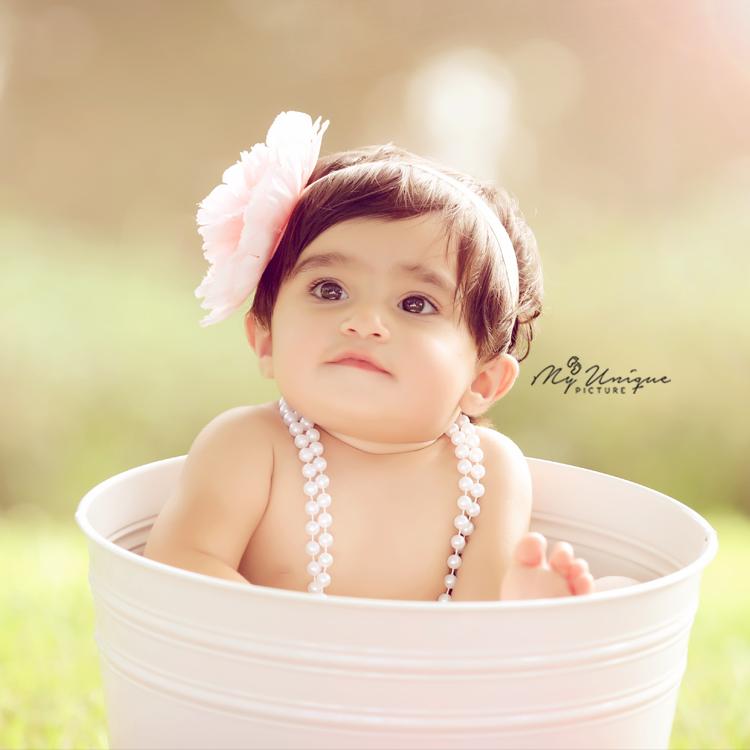 bubble bath baby photographer