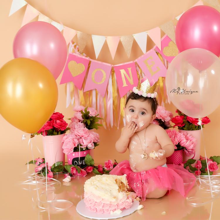 Houston first birthday photographer